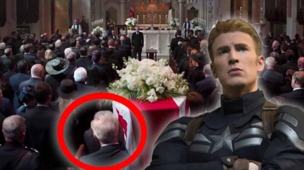 Avengers: Endgame Old Captain America Peggy Carter Civil War