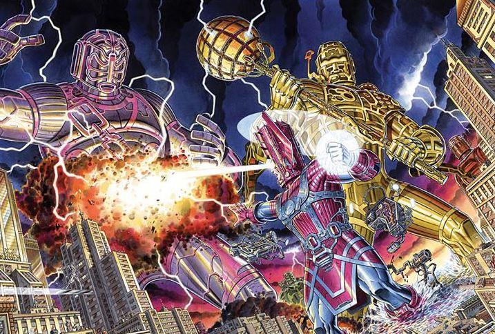 Earth X Marvel
