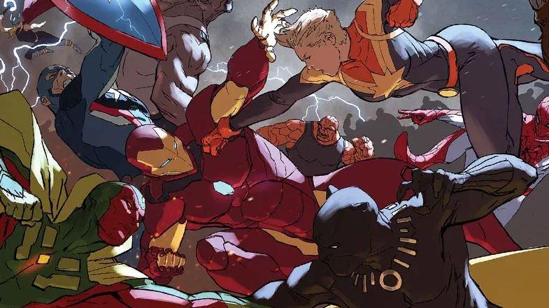 Epic Superhero Wars Marvel