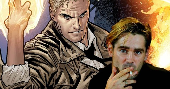 Constantine Movie Colin Farrell WB