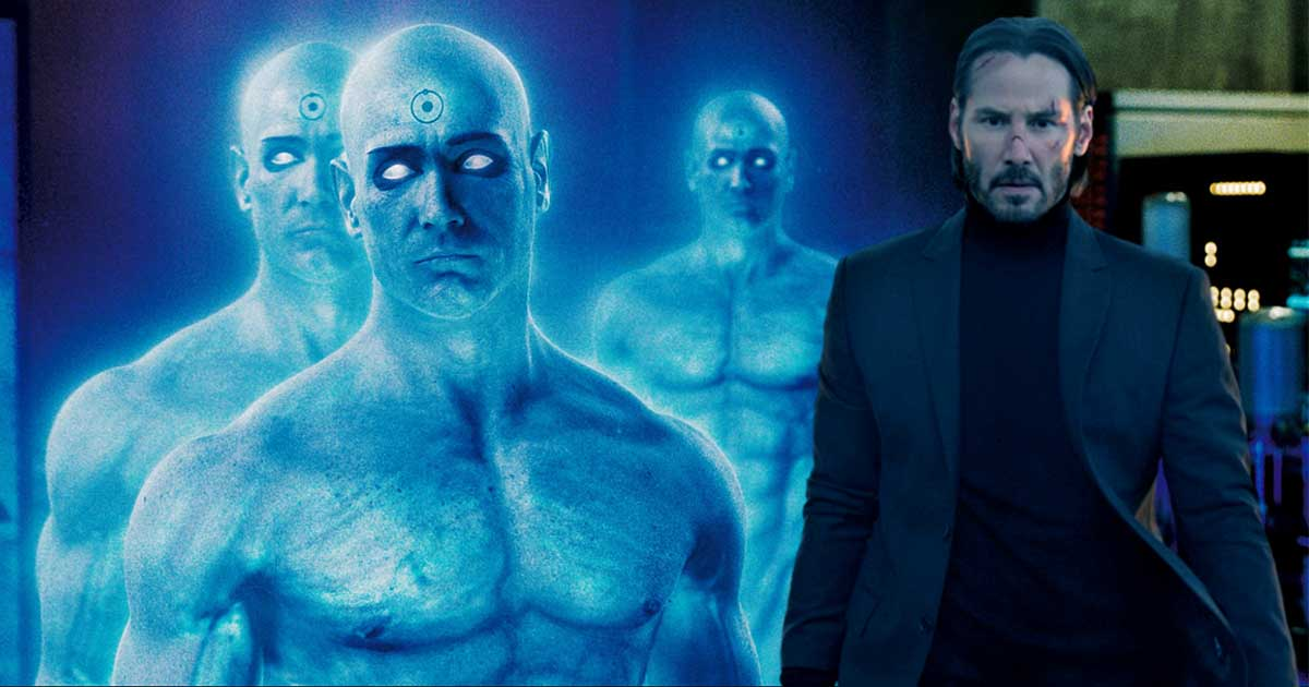 Photo of Keanu Reeves Almost Played Dr. Manhattan in Zack Snyder's Watchmen