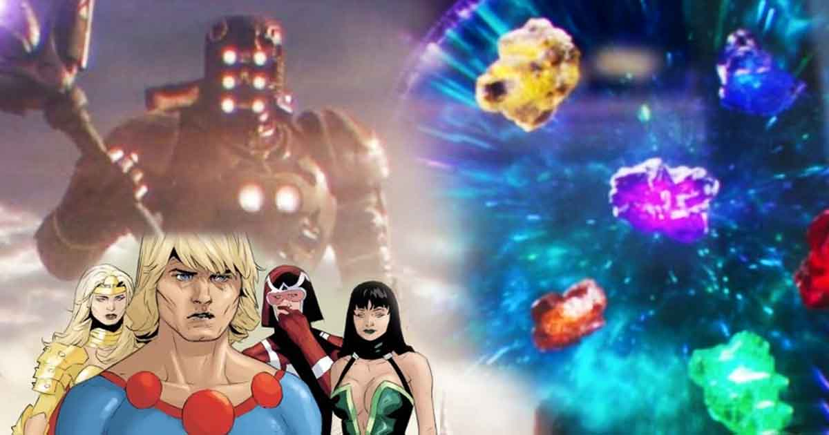 Photo of MCU Theory – The Infinity Stones Were Responsible For Creating 'The Eternals'