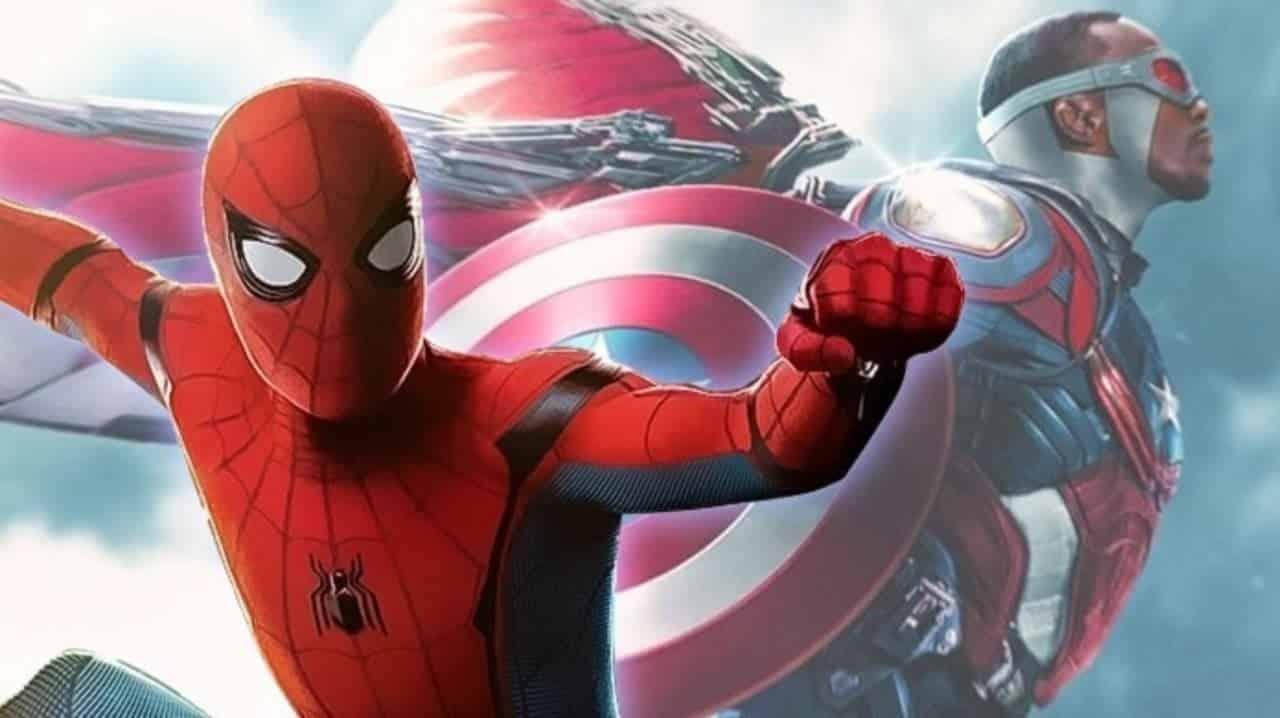 Spider-Man: Far From Home Falcon Captain America