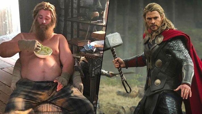 Avengers: Endgame Fat Thor Marvel