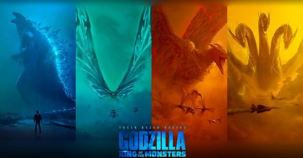 Godzilla: King of the Monsters Monsterverse