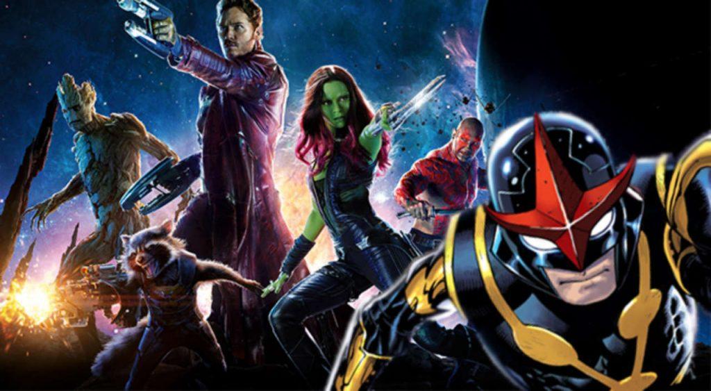 Guardians of the Galaxy Vol 3 Nova MCU