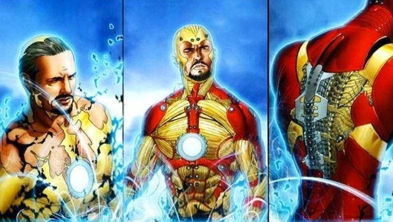 Iron Man Infinity War Bleeding Edge Armour Marvel
