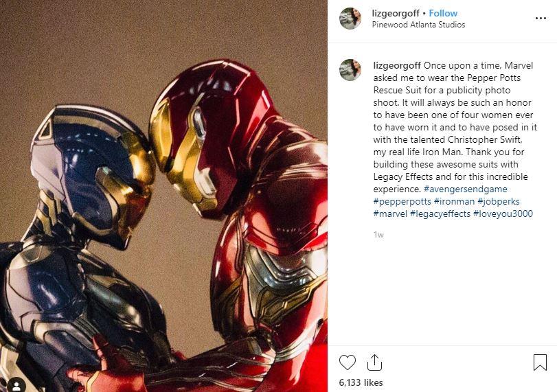 Avengers: Endgame Iron Man Rescue