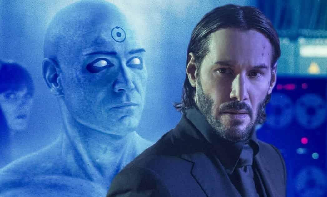 Keanu Reeves Dr. Manhattan Zack Snyder Watchmen