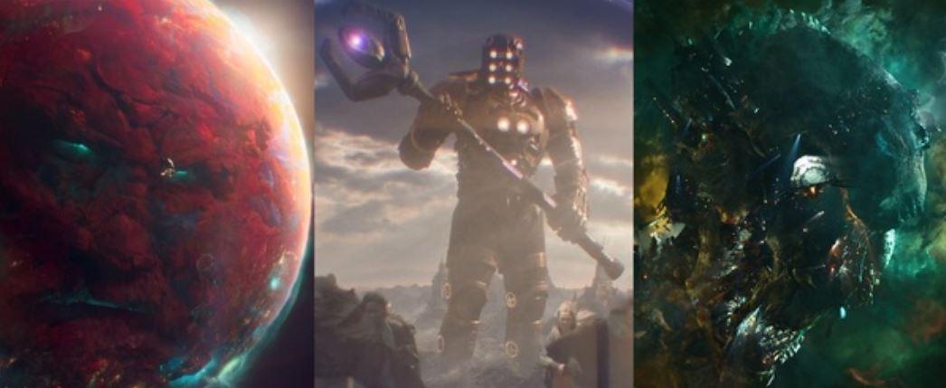 Eternals Main Villains Celestials