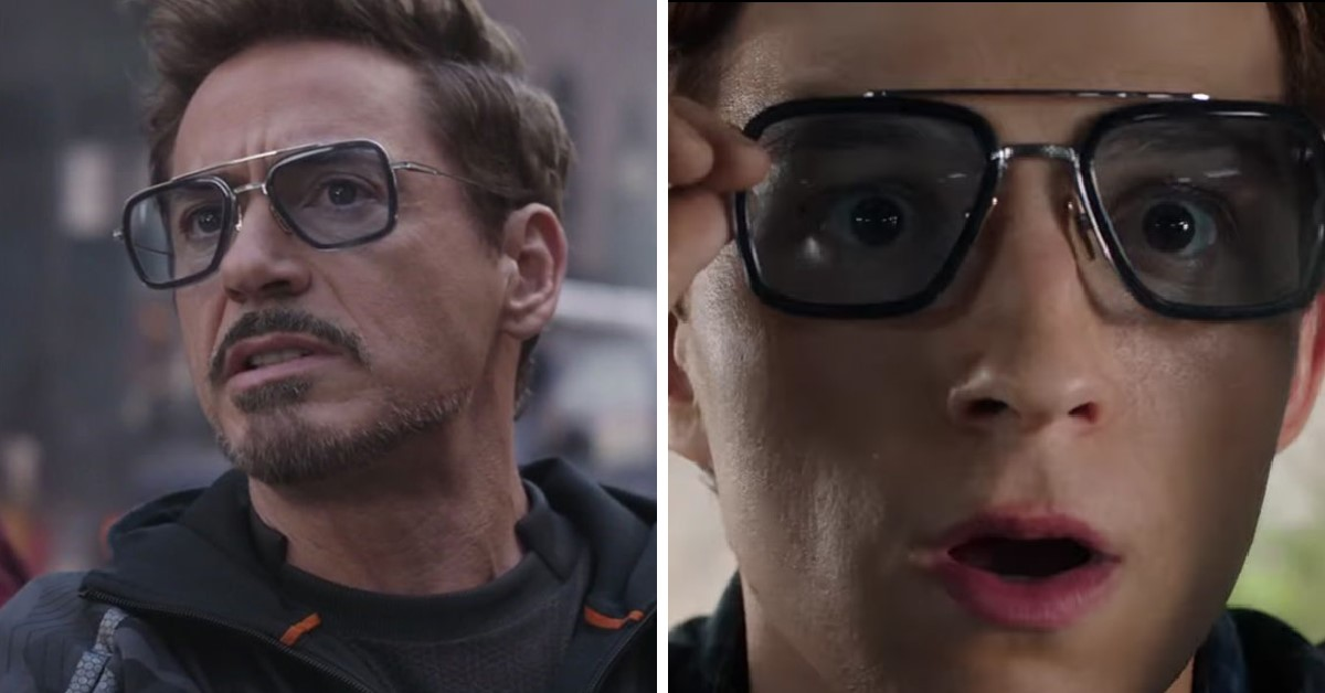Spider-Man: Far From Home Tony Stark Peter Parker