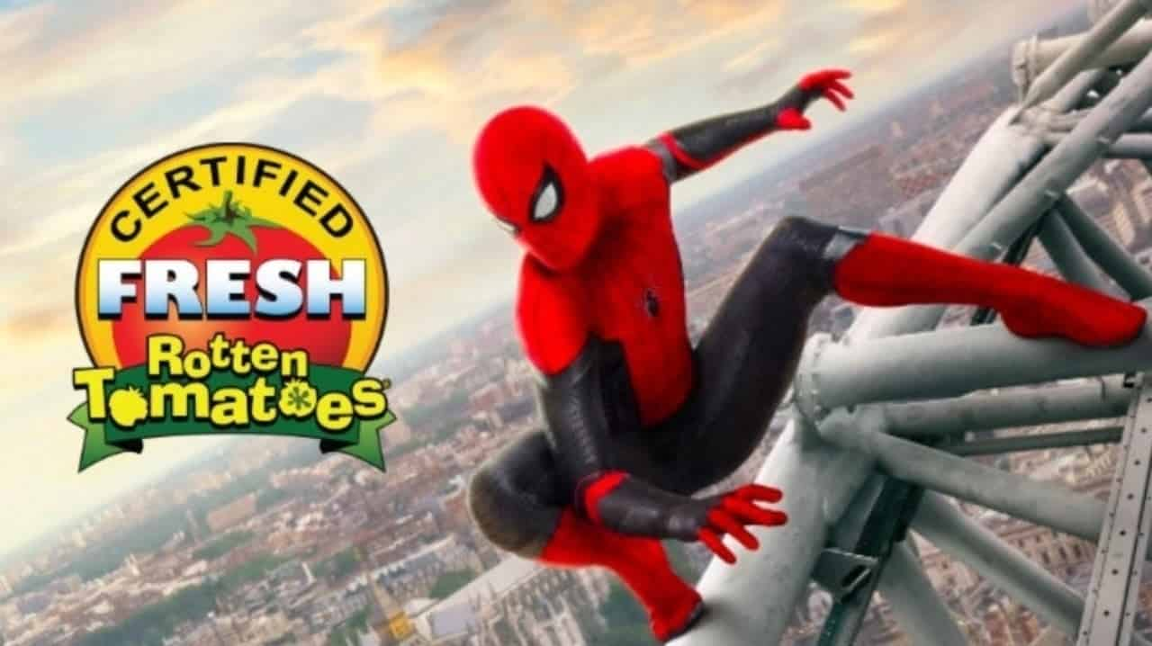 Spider-Man: Far From Home Rotten Tomatoes Score