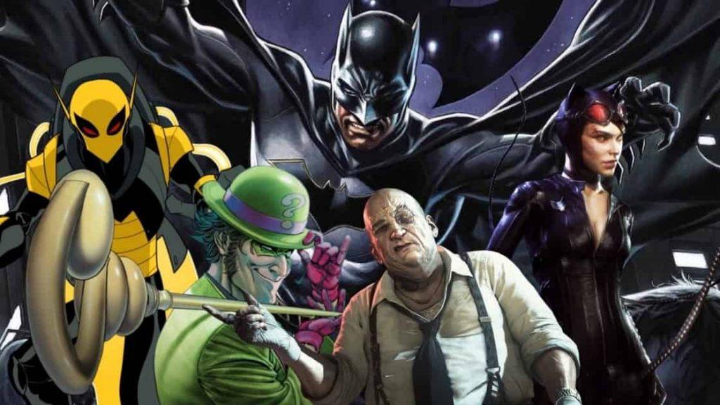 The Batman Villains Matt Reeves