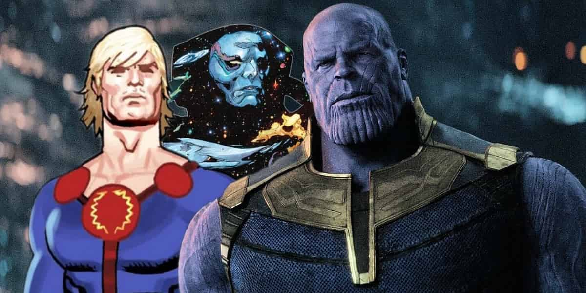 Photo of The First Concept Art For The Eternals Shows Us A Young, Horrifying Thanos