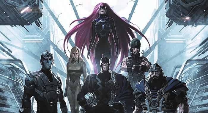 The Inhumans Marvel