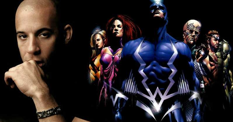 Inhumans Rumored For an MCU Reboot Vin Diesel