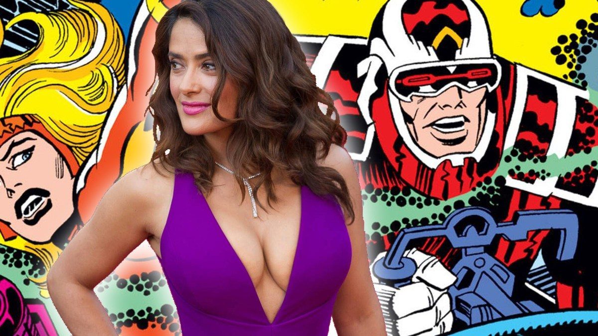 Photo of The Eternals – Salma Hayek Reportedly In Talks to Join The MCU Prequel