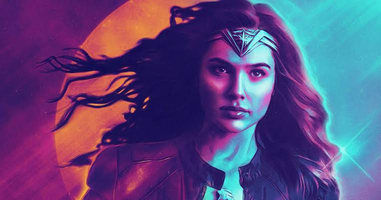 Wonder Woman 1984 Poster Diana