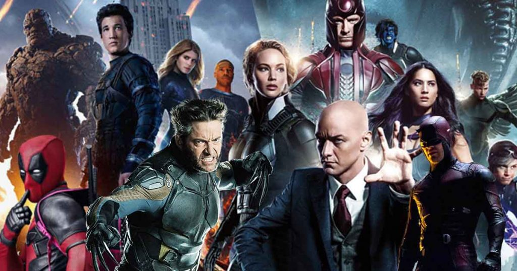 X-Men Deadpool Avengers MCU Origin of Fantastic Four
