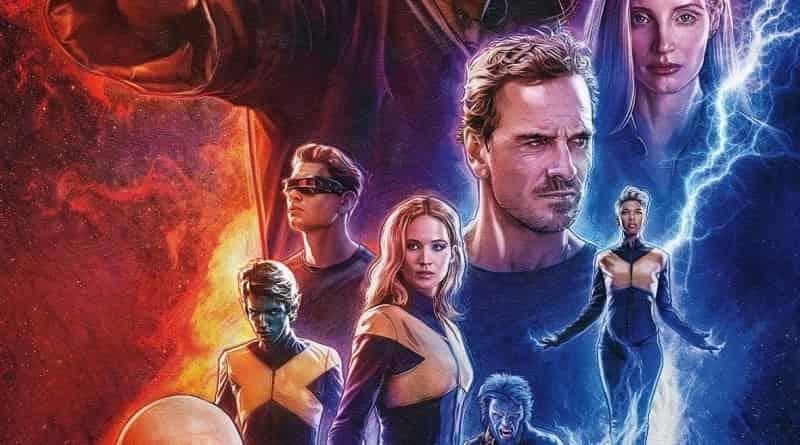 X-Men: Dark Phoenix Civil War Captain Marvel