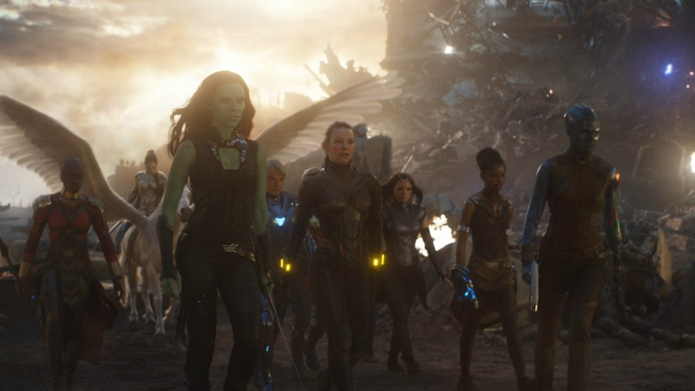 Avengers: Endgame Female Team Up Moment