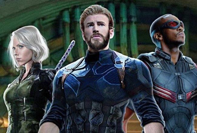 Endgame Captain America Infinity War