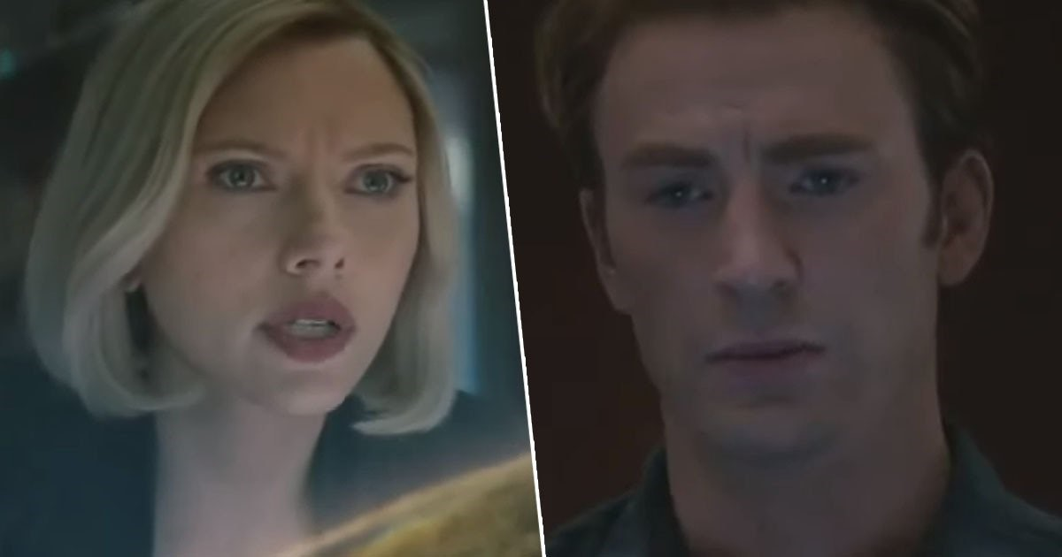 Avengers Endgame Black Widow Captain America Soul Stone