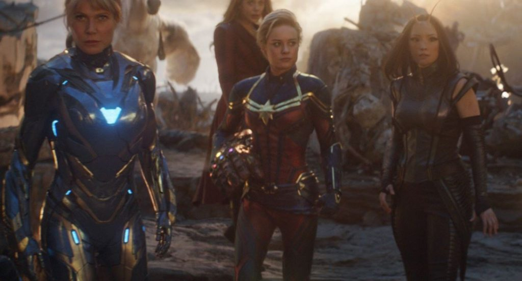 Captain Marvel Suit Was Changed With CGI