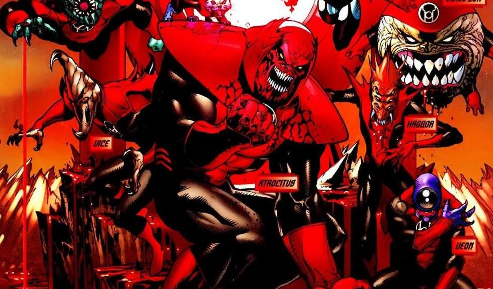 Power Lantern Corps DC Comics