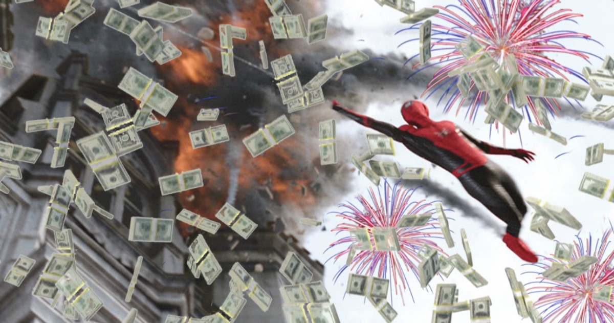 Photo of Spider-Man: Far From Home Smashes International Box Office on its Opening