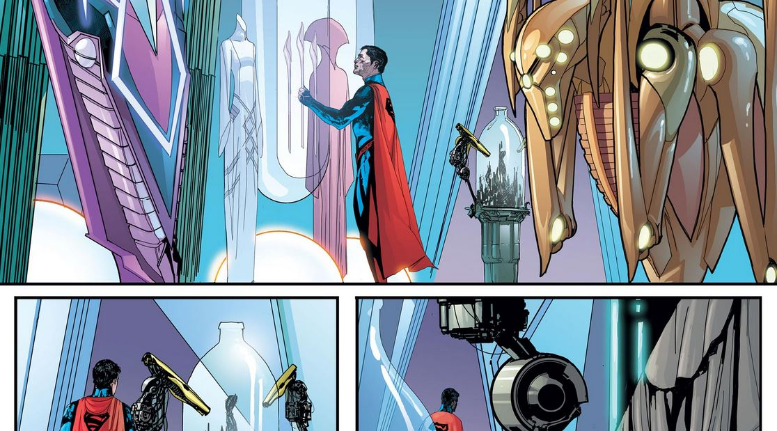 Sentry Superman DC Marvel