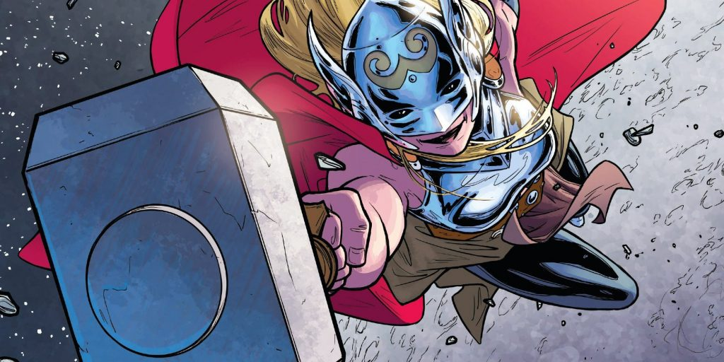 New Thor 4 Theory Suggests That Jane Foster Become a Valkyire
