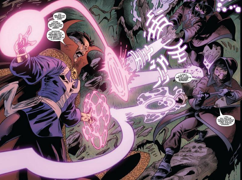 Doctor Strange Magic Based Super Villains