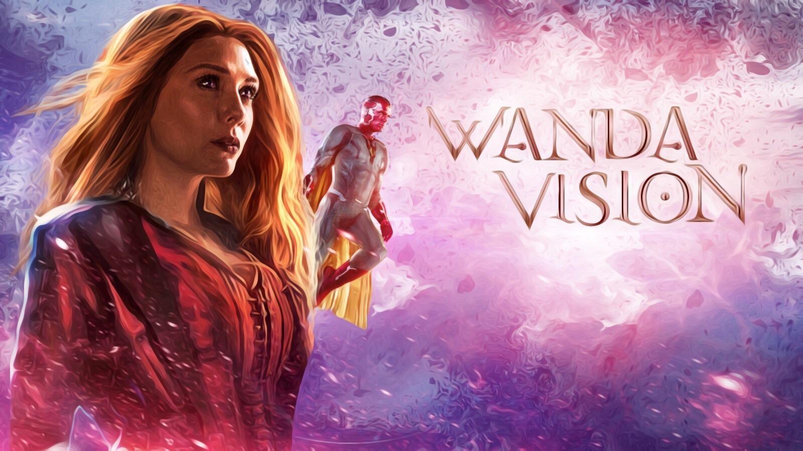Mind Stone Romance Between WandaVision