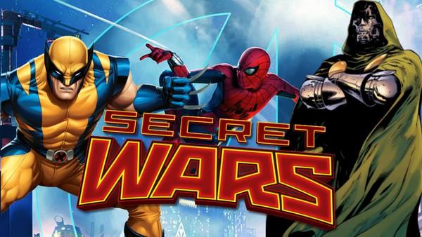 Avengers Secret Wars Set Ups