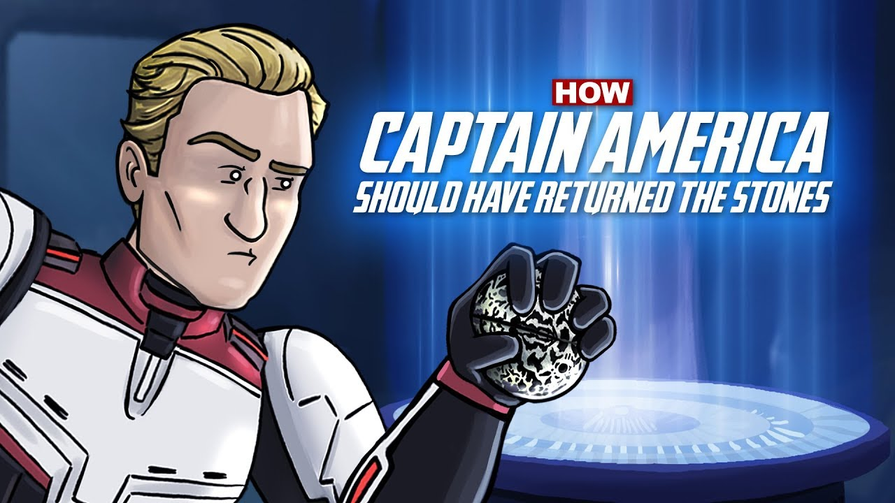HISHE – How Captain America Should Have Returned the Stones in Avengers: Endgame
