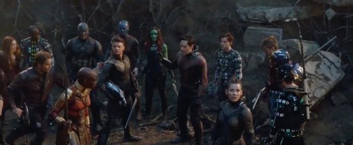 Avengers: Endgame Final Battle Deleted Scene