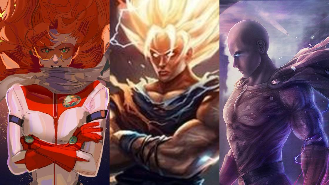 Anime Characters Powerful Than Goku