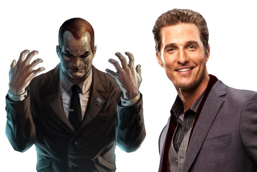 Marvel Eyeing Matthew McConaughey