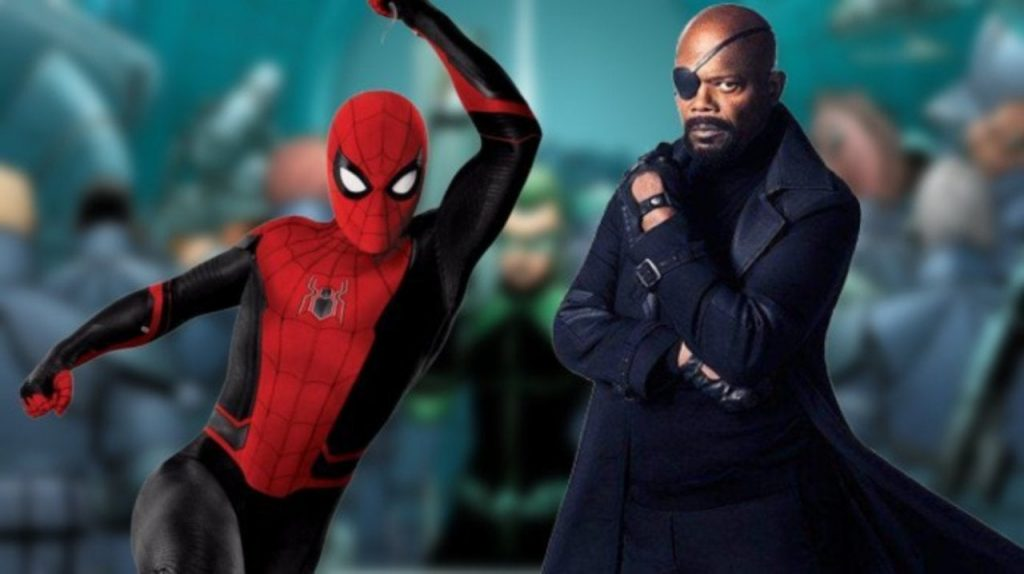 Nick Fury Spider-Man: Far From Home Marvel