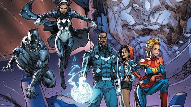 The ultimate superhero team Avengers