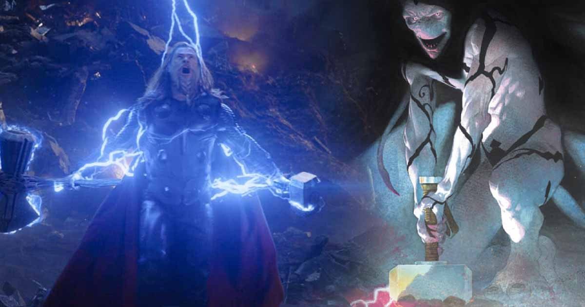 Thor The God of Thunder Gorr the God Butcher