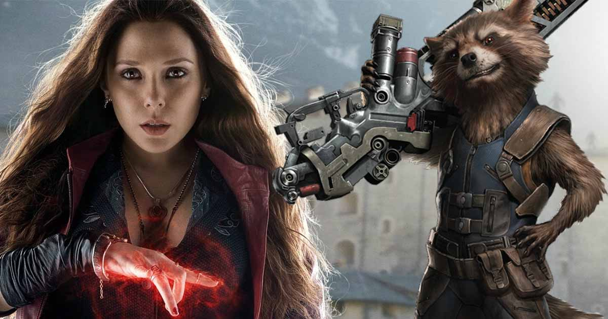 Photo of Rocket and Scarlet Witch Almost Took a Road Trip together in Avengers: Endgame