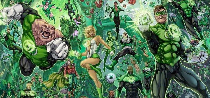 Ultraviolet Corps DC Comics Golden Lanterns