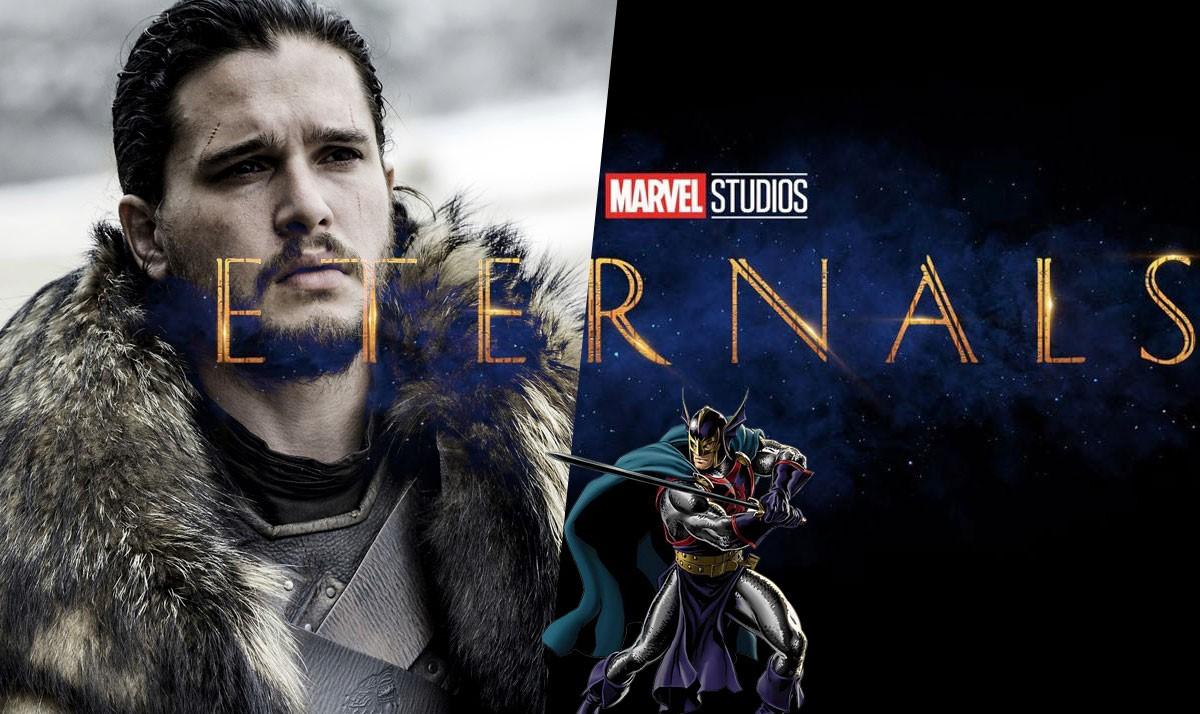 Kit Harrington Cast as Black Knight in Eternals