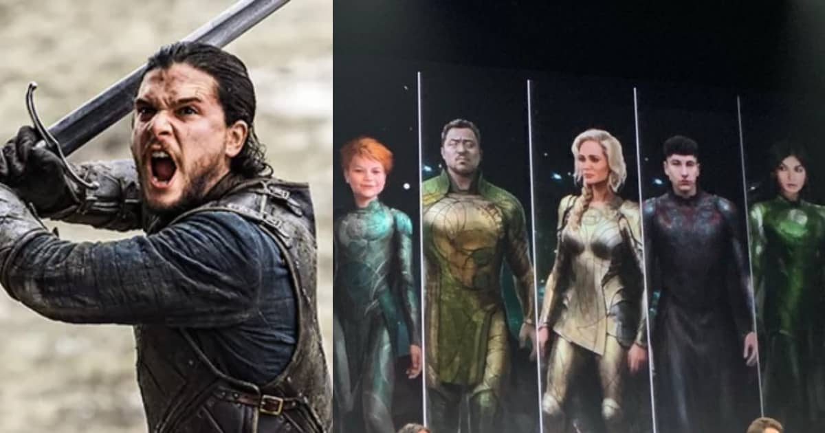 Photo of Eternals – Kit Harrington Cast as Black Knight. Every Character Concept Art Revealed