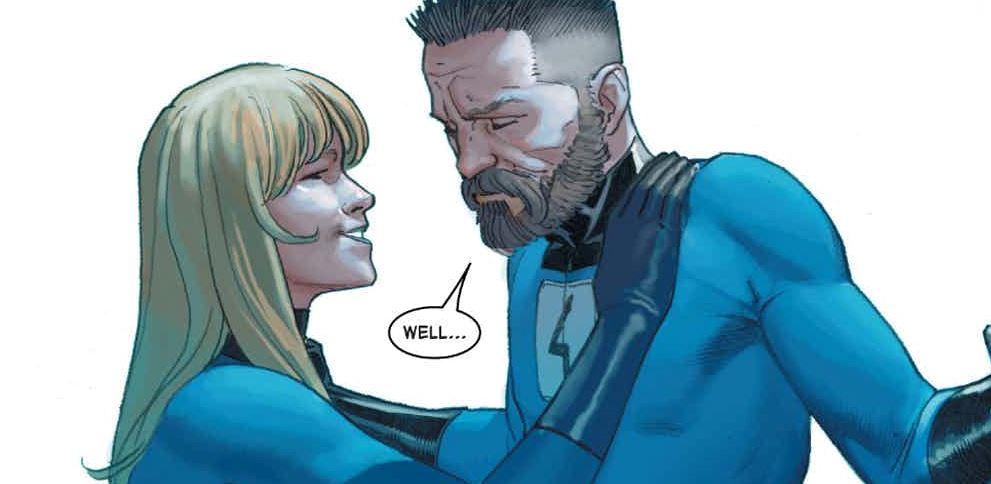 Reed Richards Tony Stark