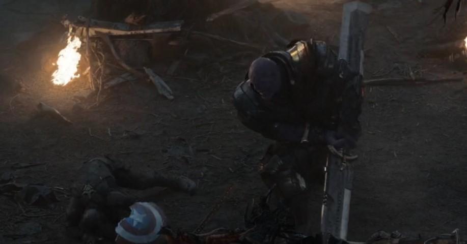 Thanos Broke Captain America's Shield