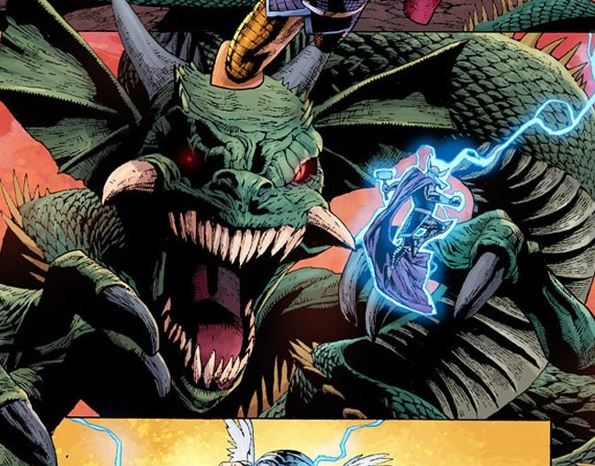 Thor May Fight The Serpent in Thor: Love And Thunder
