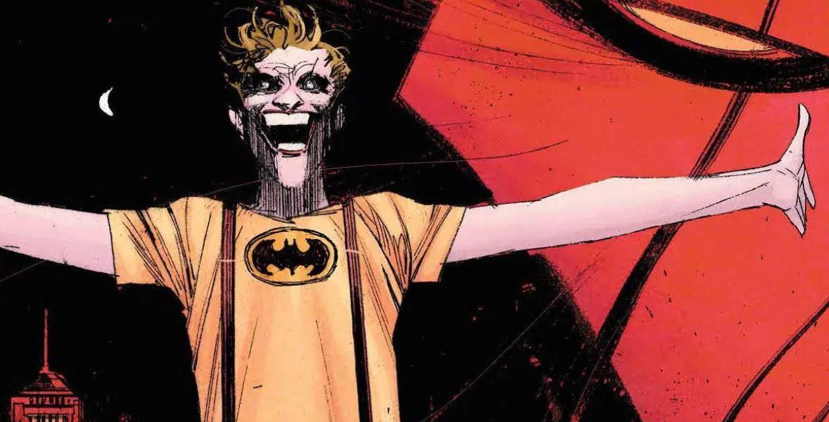 Batman Curse of The White Knight Reveals Joker's Origin Story